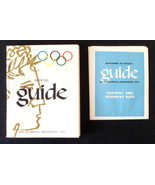 1956 Melbourne Olympic Games Australia official guide with supplement - $28.24