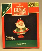 Hallmark - Hoop It Up - Features Movement! - Keepsake Miniature Ornament - $7.06