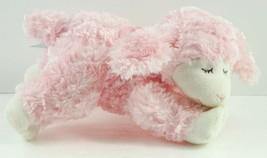 Baby GUND Winky Lamb Pink Plush Rattle #58131 Lovey - $14.99