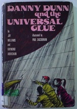 Danny Dunn and the Universal Glue Jay Williams Raymond Abrashkin hardcover  - $7.99