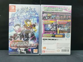 (ASIA ENGLISH COVER VER) Nintendo Switch Kamen Rider Climax Scramble (Br... - $72.38