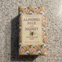Crabtree & Evelyn Almond Milk and Honey Triple Milled Bar Soap 5.57 Oz - $20.29