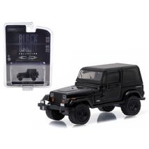 1994 Jeep Wrangler Black Bandit 1/64 Diecast Model Car by Greenlight - $13.07