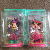 Tokyo Disney Resort 2011 Easter Wonderland Mickey & Minnie Mouse Figure set - $74.25