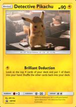 Detective Pikachu SM194 Promo Black Star Holo Pokemon TCG - $4.99