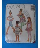 McCALLS Girls Tops Skirt and Leggings 5831 Pattern - $4.95