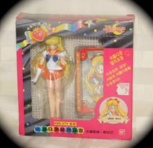 Sailor Luna Modelos Venus Petit Soldado Figura Bandai Vintage Oficial - $31.38