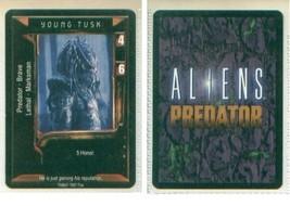 Aliens vs Predator CCG card YOUNG TUSK - $7.00