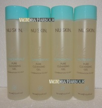 Four pack: Nu Skin Nuskin Pure Cleansing Gel (Combination to Oily) 150ml 5oz x4 - $76.00