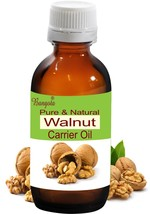 Walnut Pure Natural Carrier Oil Cold Pressed 50 ml Juglans Regia by Bangota - $12.87