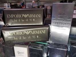 Emporio Armani Lui + Diamonds By Giorgio Armani 1.7 2.5 3.4 Oz For Men * Sealed - $39.99+