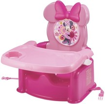 Disney Baby Minnie Mouse Booster Seat Infant Chair Portable w/ Safety Ha... - $40.16