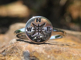 Haunted Solomon Archangel Haniel Wealth and riches compass to your destiny ring - $77.77