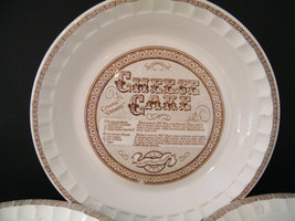 Royal Jeannette Cheesecake Pie Plate Vintage po... - $14.95