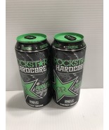 Rockstar Energy Drink Hardcore Apple 16oz Can Pre Release. 2 x Full Cans... - $8.99