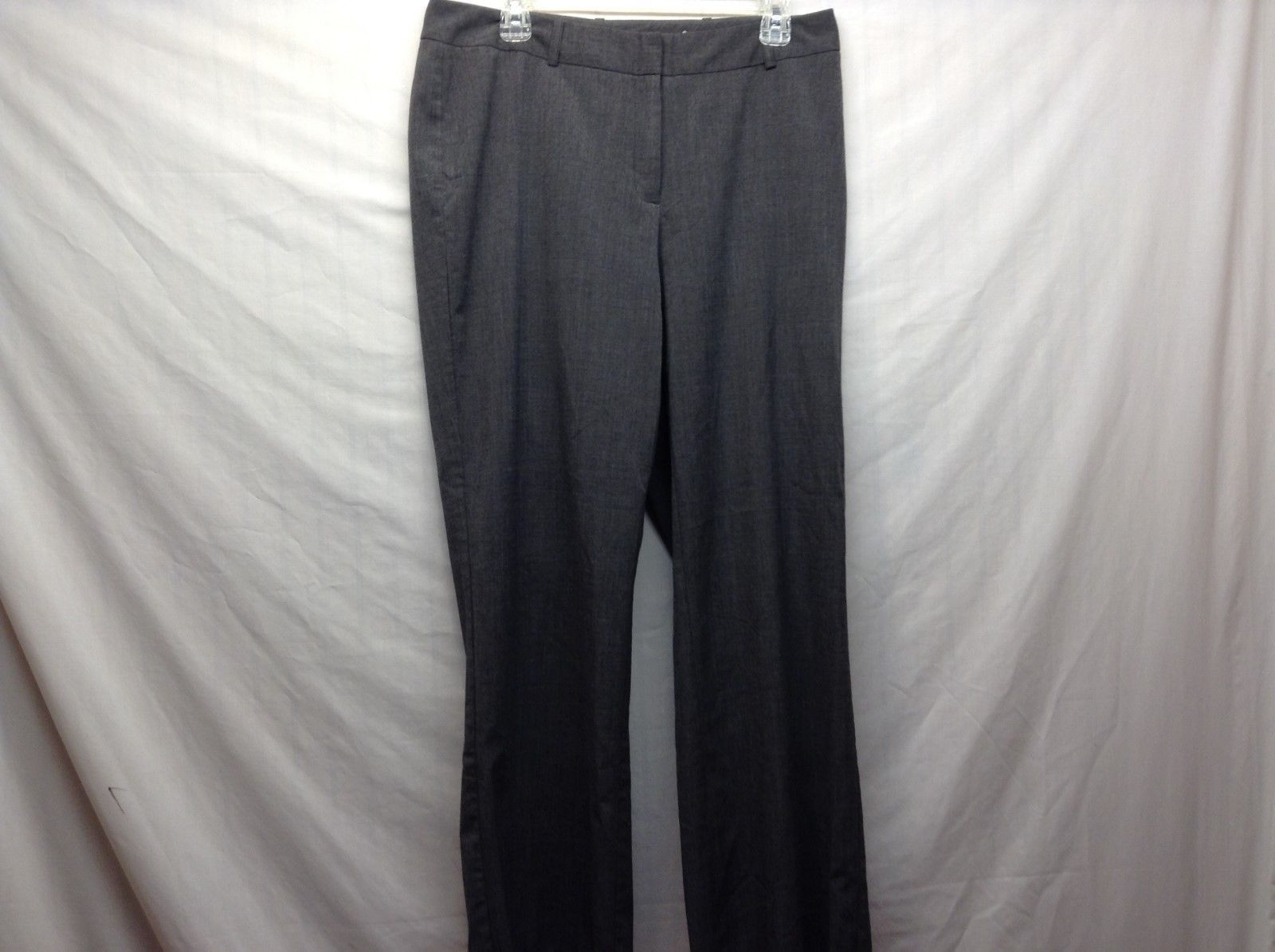 Worthington Ladies Slate Grey Slacks Curvy Fit Sz 12