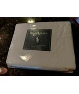 Ralph Lauren 250 Thread Count PREMIUM FULL Fitted Sheet Polo White NIP - $64.95