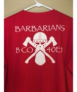 US Army B Co. 40th Engineer Battalion BN Red PT Shirt Moisture Resistant... - $24.45
