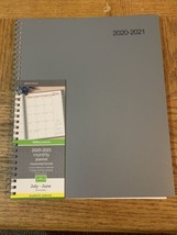 Office Depot 2020-2021 Monthly Planner Horizontal Format 8.5x11 - $8.37