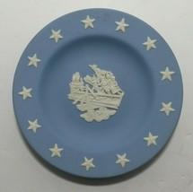 Vintage Wedgwood Jasperware Collectors Society Plate Battle of Concord - $15.28