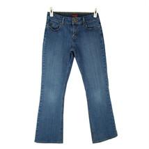 LEVI 526 Jeans 4 Med Wash Mid Rise Slender Boot Cut Five Pocket Stretch ... - $14.85