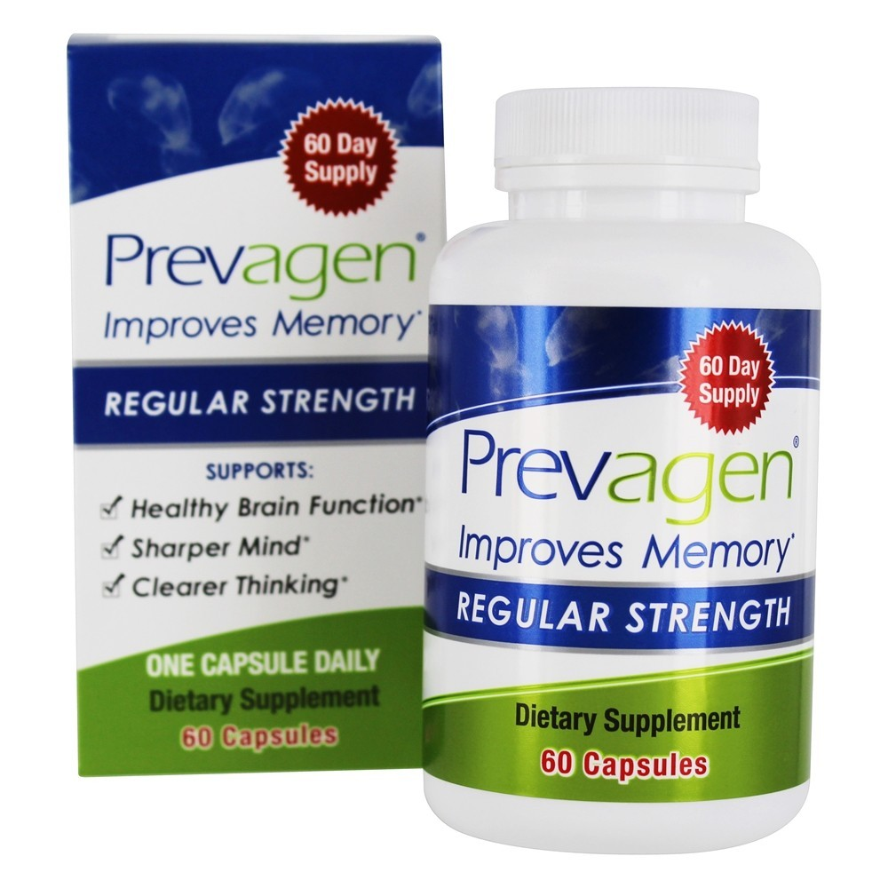 Primary image for Prevagen Apoaequorin Regular Strength 60 Capsules Improves Memory
