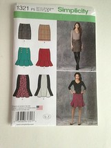 Simplicity Sewing Pattern 1321 Skirts Straight & Flounce Hem 10-12-14-16... - $7.91