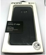 Incipio DualPro Case Dual Layer Protection for Samsung Galaxy S7 Edge Bl... - $9.89