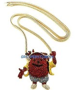 Eskimo Chain New Brick Squad, Super Blue Man, Kool Aid Necklace - $31.73+
