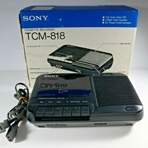 Sony TCM-818 Cassette Player Tape Recorder w/ Built in Microphone - $24.99