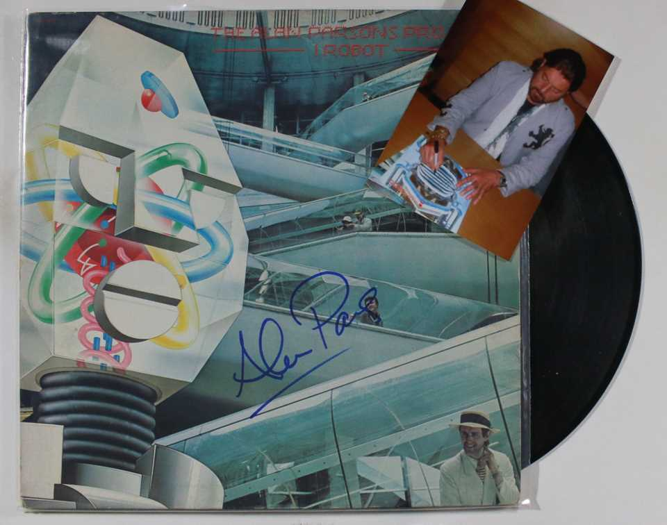 Primary image for Alan Parsons Signed Autographed Record Album w/ Proof Photo