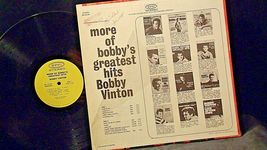 Bobby Vinton  More of Bobby's Greatest Hits Bobby Vinton AA20-RC2106 Vintage image 4