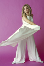 Sharon Tate 1960's fashion pose in white suit 18x24 Poster - $23.99