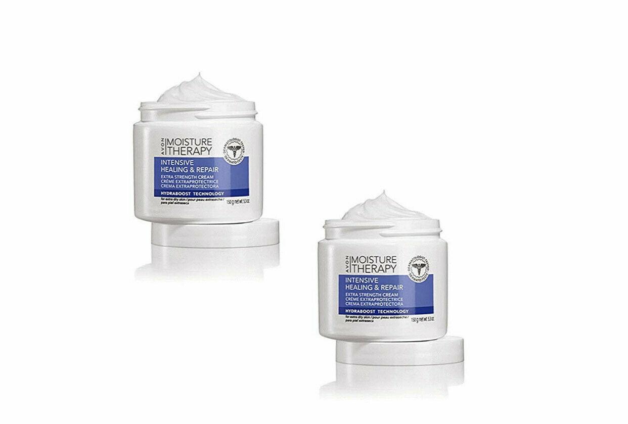 Avon Moisture Therapy Intensive Healing & Repair Extra Strength Cream  PACK OF 2 - $19.79