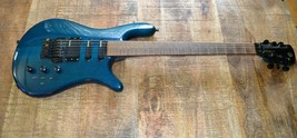 Spector NS-6A Electric Guitar Vintage 1980s Schaller Tuners Floyd Rose Teal RARE - $2,902.42