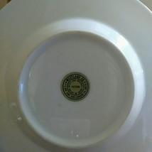 """VTG WESTLAND COLLECTIBLE PLATE JAPAN HUMMINGBIRD 6"""" PORCELAIN WHITE  24K GOLD PL image 3"""