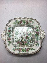 VINTAGE Coalport CHINA Indian SUMMER Pattern SQUARE Small SERVING Tray H... - $35.63