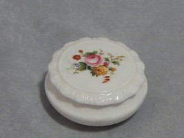 Coalport England Ludlow Small Round Covered Trinket Box - $7.43