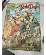 Roy Rogers Rodeo Days to Color 1962 Coloring Book - $12.99