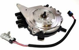 OptiSpark Spline Drive Distributor & Spark Plug wires & Wiring Harness For Chevy image 5