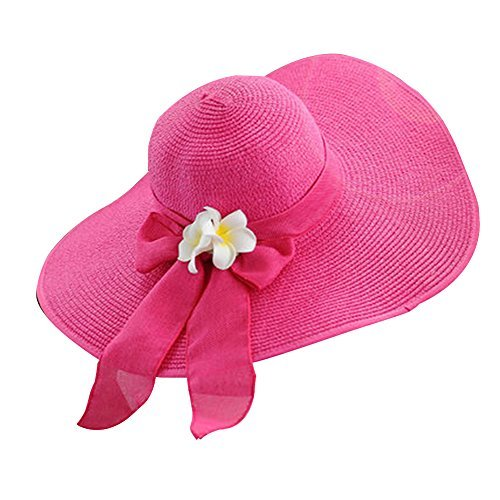 Primary image for Wide Brim Straw Hat Weaving Fashion Sunscreen Girls Straw Hat