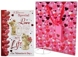 jemand BESONDEREN Liebe meines Leben Valentinstag Kiste Karte Silber und Gift - $36.51