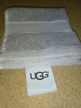 "UGG®  washcloth  Towel in Gray 12"" X 12"" new with out tags.  image 2"