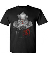 NEW IT CHAPTER 2 PENNYWISE Movie 2019 Horror Black T Shirt Size S M L XL... - $15.99+