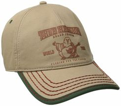 True Religion Men's Cotton Buddha World Tour Baseball Trucker Hat Cap TR1988 image 14