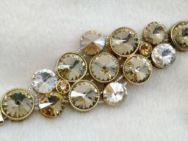 Chunky Rivoli Demi-Parure Bracelet w/ Earrings image 3