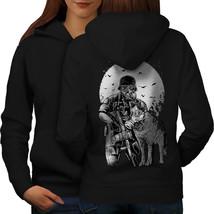 Survival Dog Toxic Horror Sweatshirt Hoody  Women Hoodie Back - $21.99+