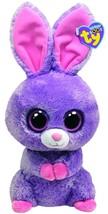 Ty Beanie Boos Buddies Petunia Purple Bunny - $90.71