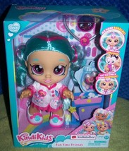 """Kindi Kids Fun Time Friends Dr Cindy Pops 10"""" Doll with 2 Outfits New - $26.88"""