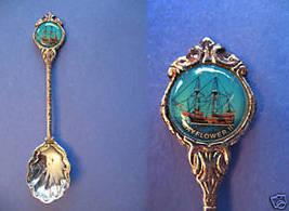 MAYFLOWER II SHIP Souvenir Collector Spoon Collectible - $6.95